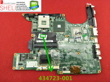 434723-001 for HP DV6000 series motherboard DA0AT6MB8E2 945GM,send one cpu free 60 days warranty SHELI stock(China)