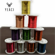Nylon Cords Jewelry Magnetic Clasps Diy Free Shipping 10 Rolls 0.3mm Multi-colors Copper Cord, Necklace & Bracelet Cord