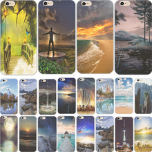 China Vast Magnificent Scape Silicon Phone Cover Cases For Apple iPhone 5C iPhone5C Case Shell Supper Fashion Best Choose
