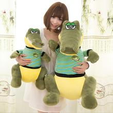 Big Size Animal Crocodile Plush Toy Stuffed Soft Cartoon Alligator Pillow Doll