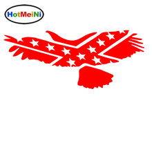 HotMeiNi Fierce Bald Eagle Flying Free The Open Sky Abstract Car Stickers for Truck Bumper Kayak Car Decor Vinyl Decal 10 Colors(China)