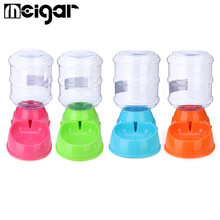 3.5L Large Bottle Automatic Pet Drink Dispenser Dog Cat Feeder Water Bowl Dish Portable Pet Puppy Feeding Tools Supplies