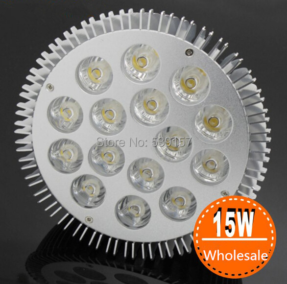 Wholesale price 16pcs/lot Warm White Cold White CREE 12x1W/15x1W PAR38 E27 Dimmable LED PAR Light 100-240V AC CE&amp;ROHS<br><br>Aliexpress