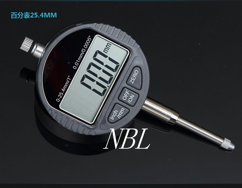 Brand 0.01mm Digital Dial Indicator 0-25.4mm/1 Electronic dial indicator Gauge Meter Carbide Tip With Retail Box Free Shipping<br><br>Aliexpress