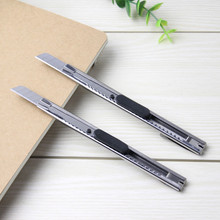 2PCS Fashion Office Stationery Metal and Plastic Small Size Utility Knife Small mobile phone film tools the Stainless Steel Art