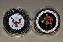 Free Shipping 5pcs/lot,NEW U.S. Navy Armor of God Challenge Coin