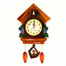 Crafts Arts Home decoration Mute cartoon kindergarten children room bedroom lovely cartoon clocks, quart(China)