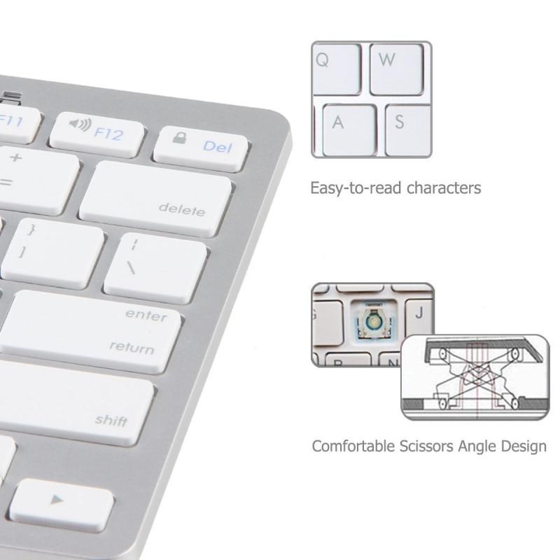 4  German Keyboard Bluetooth