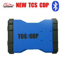 Latest Products TCS CDP 2016Top selling 2015.r3 Free Activated with Bluetooth TCS CDP OBD2 Scanner with free china post shipping