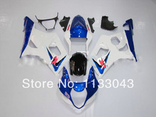 For SUZUKI GSX-R1000 K3 03 04 GSX R1000 K3 White Blue G908756 GSXR 1000 2003 2004 GSXR1000 Fairing Kit