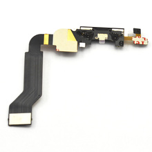 [2 Colors ] Black White Dock Connector For iPhone 4S 4GS Charging Charger Port Flex Cable Repair Parts