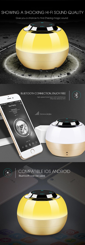 Portable Outdoor Bluetooth Speaker LED Flash Light Wireless HIFI Sound MP3 Speakers Super Bass Loundspeakers Support Handsfree