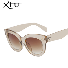 Cat Eye Sunglasses Women Brand Designer Sun glasses Retro Vintage Rose Gold Points Female Top Quality Oculos De Sol Feminino