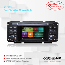4.3 Inch Car DVD Player For Chrysler/Dodge/RAM/Jeep/Grand Cherokee With GPS Navigation BT Radio Free Maps