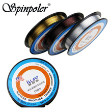 Ilue 150m Fluorocarbon Fishing Line Clear/Colorful/Shadowless Resgin Coated With Fluorine Linha De Pesca Fluorocarbon Peche(China)