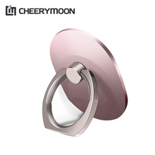 CHEERYMOON Q1 Oval Series Holder Universal Mobile Phone Ring IRE Metal Stand Finger Grip Stand Stent Bracket For IPhone Samsung