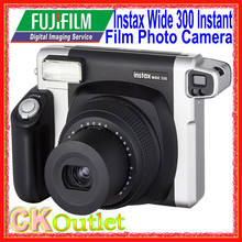 Fujifilm Instax 300 Wide + Free Gift Photo Camera Instax Film Instant in Black Color