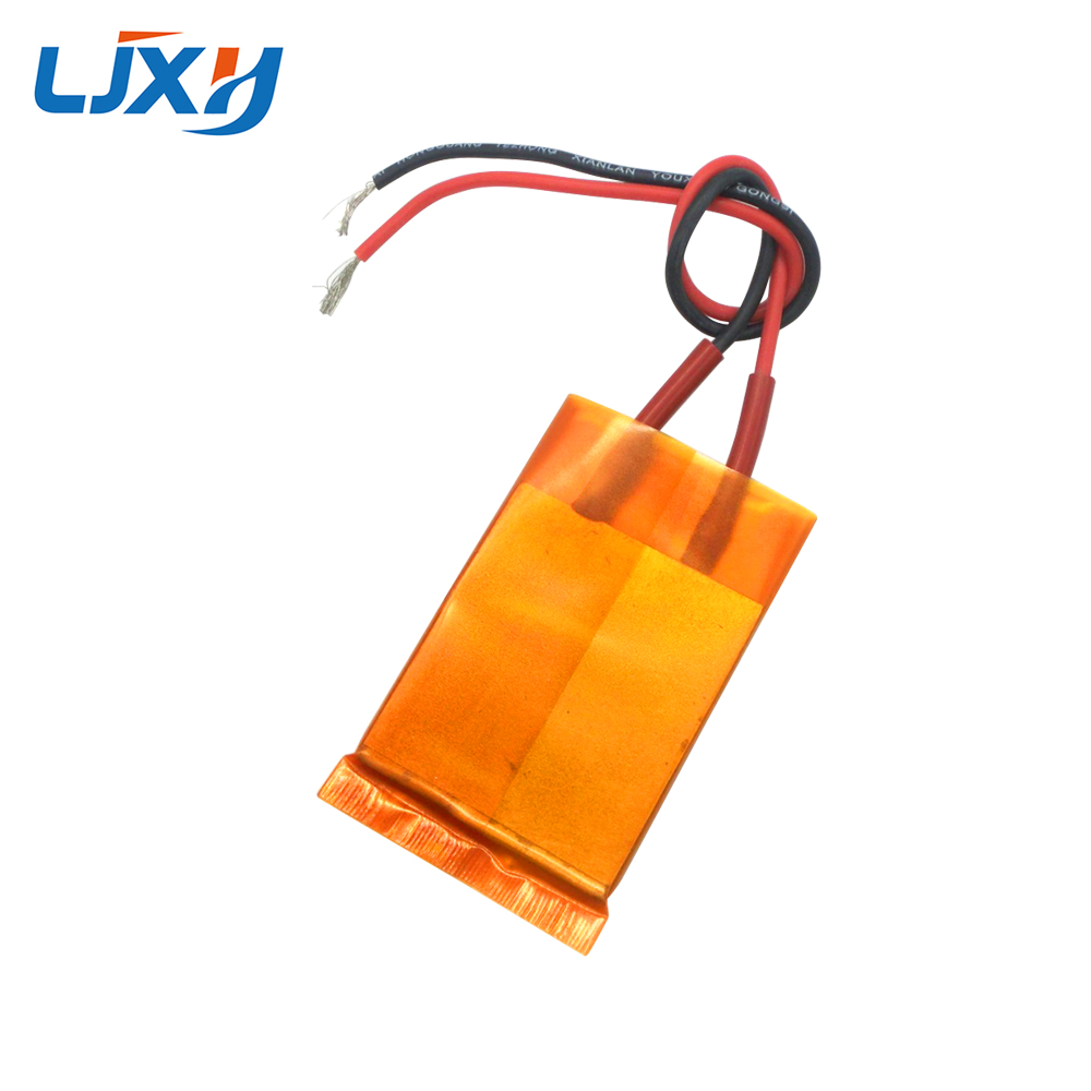 LJXH 2PCS 44x40x3.5mm AC220VPTC Air Heater Plate Insulating Film Constant Temperature 60/80/100/120/150 degrees Thermostat