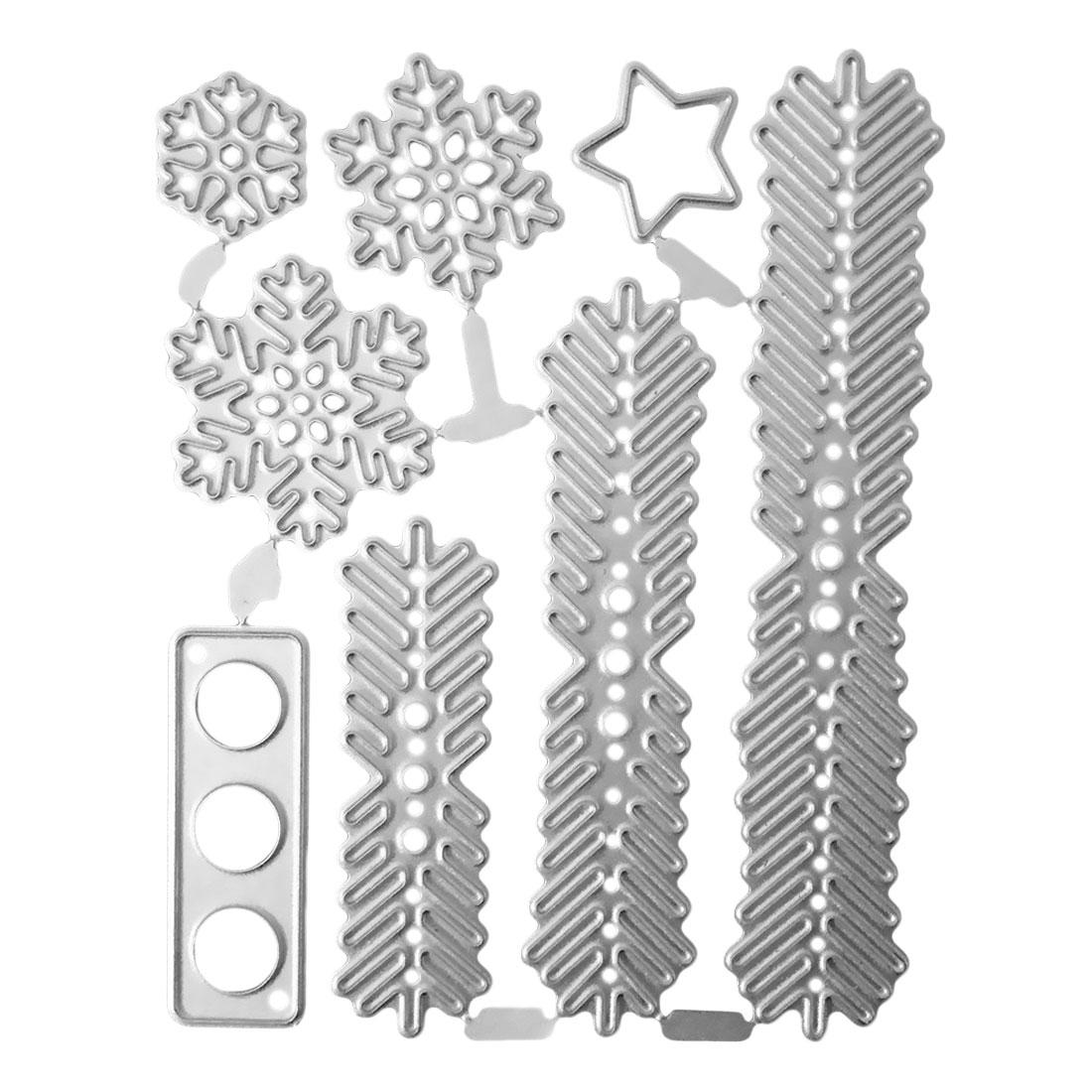 Craft Die Metal Cutting Snowflake Border Stencil DIY Scrapbooking Embossing Dies