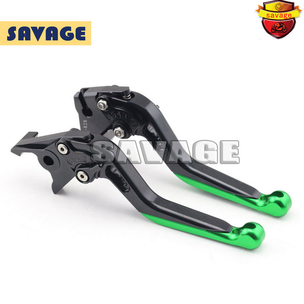 For KAWASAKI NINJA 250R 08-14, 300R 13-15 Motorcycle Accessories Extending Brake Clutch Levers extendable CNC Aluminum<br>