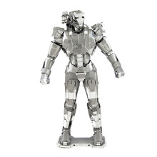 War Machine 3D Metal Puzzle Stainless Steel Robot Model Assembly Toys Educational Toys Magnetic Marvel Jigsaw Puzzle