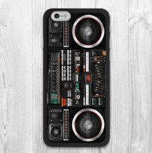Retro Boombox Music Blaster Protective Phone Case For iPhone 4 4s 5 5s 5c 6 6s 6 Plus 6s plus 7 7 plusHigh Quality Phone Cases