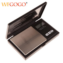WFGOGO Mini Precision Digital Scale Electronic Jewelry Scales Gold Silver Coin Gram Pocket Size Display Units Pocket(China)