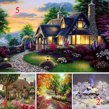 5D Diamond Painting DIY Landscape Painting Cross Stitch Home Decor The Gift Of The Child