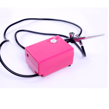 New Airbrush compressor kit portable airbrush spray make up airbrush cake decorating airbrush for nail tattoos(China)