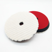 high quality rupesss shape japanese short wool polishing pad wool polishing disct(7inch or 6inch for choose)(China)