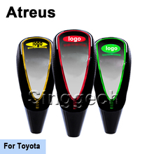 Atreus Car Gear Shift Knob Touch Sensor LED Light Colour 5/6 speed For Toyota Corolla Verso Camry Auris Hilux Priu RAV4 Yaris