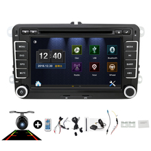 7inch 2din VW Car DVD GPS PC Navigation for VW GOLF POLO JETTA TOURAN MK5 MK6  PASSAT B6 GPS Map radio stereo,bluetooth, FM/AM