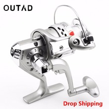 OUTAD SG3000 5.1:1 6BB Ball Bearings Left/Right Fishing Reel Interchangeable Collapsible Handle Fishing Spinning Wheel Fish Reel(China)