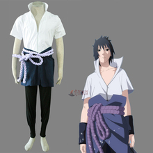 Athemis Anime Naruto Uchiha Sasuke Cosplay costume and cosplay clothes custom made(China)
