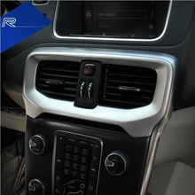 Suitable for Volvo V40 modified special control in the outlet V40CC air conditioning outlet interior decoration car stickers(China)