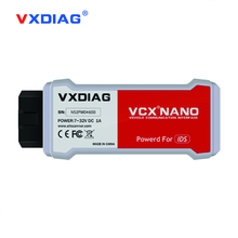 Originla VXDIAG VCX NANO for Ford/Mazda 2 in 1 with IDS V101 V104 Perfect replacement for Ford VCM II 2 Update online Free ship(China)