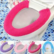 ISHOWTIENDA 1PC 70cm*15cm*5cm All Type Warm Soft Toilet Cover Seat Lid Pad Bathroom Closestool Protector(China)