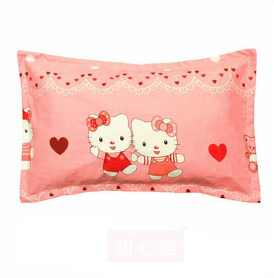 2017 naturla healthy soft comfortable baby cartoon printed cotton pillow size for 50 * 30 cm pillow<br><br>Aliexpress