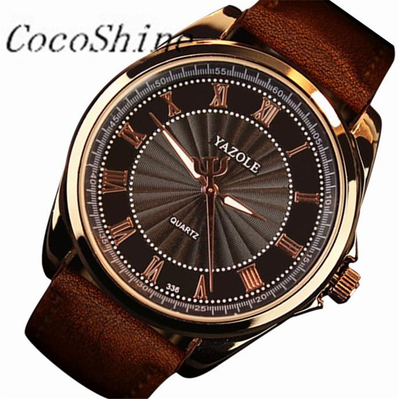 CocoShine A-511 Fashion Mens Date Leather Stainless Steel Military Sport Quartz Wrist Watch wholesale Free shipping<br><br>Aliexpress