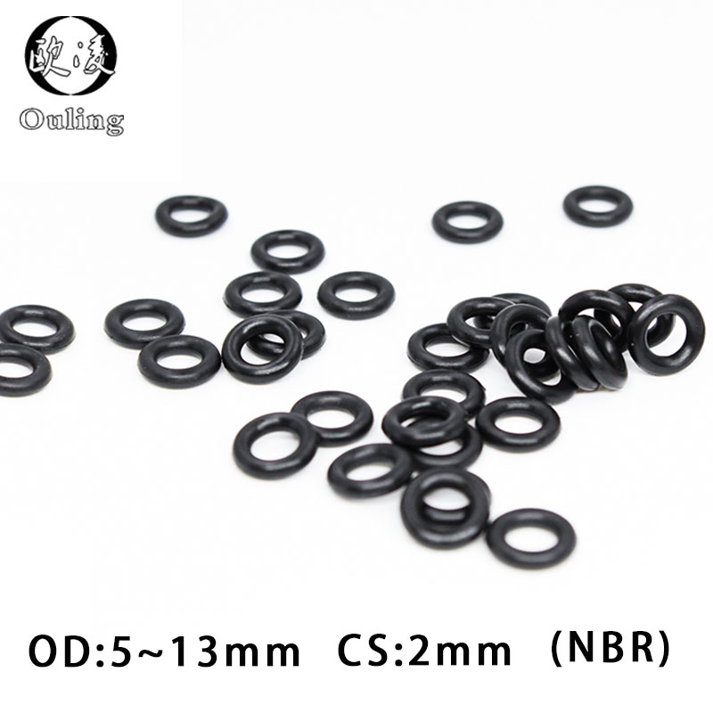 500x 11 x 2mm Silicone 70 O/'Ring