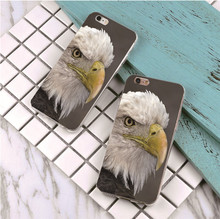 Top Quality The eagle Case For iPhone 6 4 4s 5S e 5 6 6S 7 Plus 6plus Ultra Thin Cover For iPhone 6 6s Phone Cases