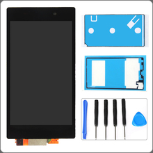 For Sony Xperia Z1 L39 L39H C6902 C6903 C6906 LCD Display Touch Screen Digitizer Full Assembly+ 2 Adhesives+Tools Free Shipping