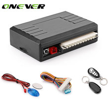Onever Universal Car Alarm Systems Auto Remote Central Kit Door Lock Vehicle Keyless Entry System Central Locking Remote Control(China)