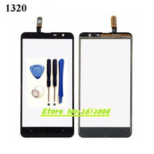 Original High Quality 6.0'' For Nokia Lumia 1320 Touch Screen Digitizer Sensor Front Glass Lens panel + tools