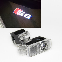 GHOST LOGO LASER PROJECTOR DOOR UNDER PUDDLE LIGHTS FOR AUDI RS RS3 RS4 RS5 RS6 S4 S5 S6 S7 S8 A1 A3 A4 A5 80 TT A6 A8 Q3 Q5 Q7