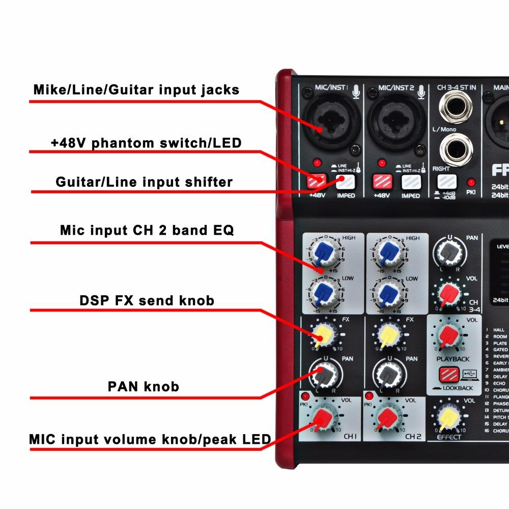 UM-66  15  Audio Mixer