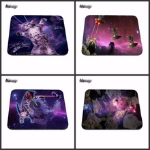 Mairuige Laser Cats In Space Speed New  Game Vintage Stylish Mouse Pad Gaming Rectangle Mousepad Free drop shipping As A Gift