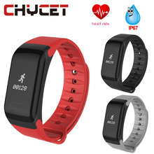Buy F1 Smart Wristband Heart Rate Monitor IP67 Sport Fitness Bracelet Tracker Smartband Bluetooth Android IOS PK mi band 2 for $20.99 in AliExpress store