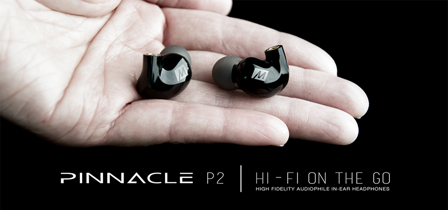 MEE PINNACLE P2 High Fidelity Audiophile In-Ear Headphones with Detachable Cables Built-in Mic HIFI Noise Isolating Earphone