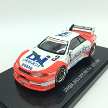 EBBRO1:43 NISSAN R32 1994 Die-Cast Scale Model Car Racing